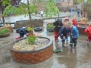 EYU in the rain