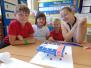 Parents & Pupils tackling STEM challenge together