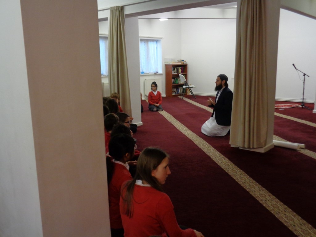 Visit to the Mosque (3)