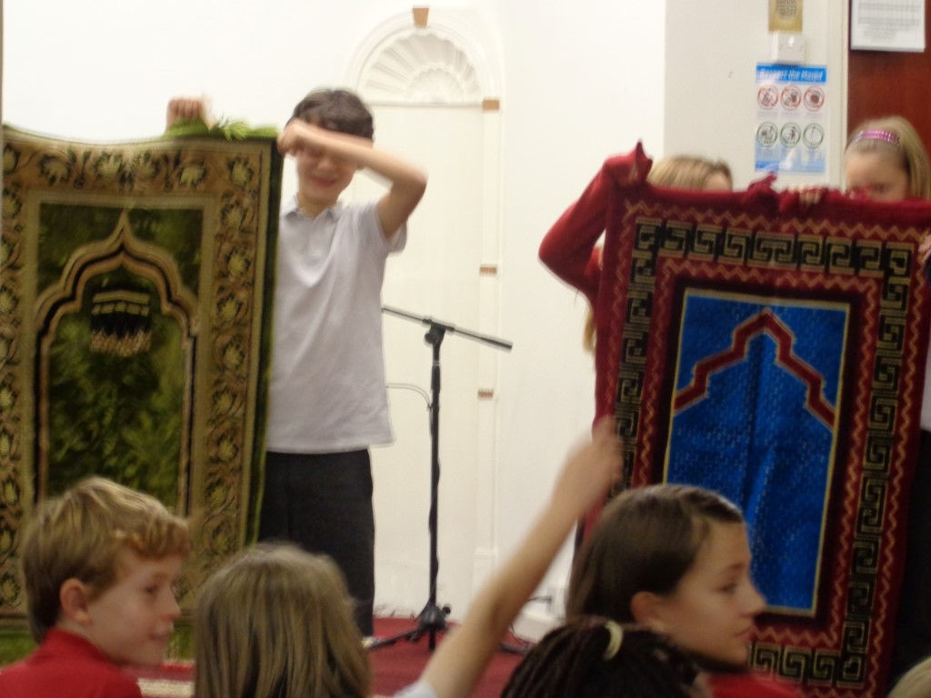 Visit to the Mosque (5)